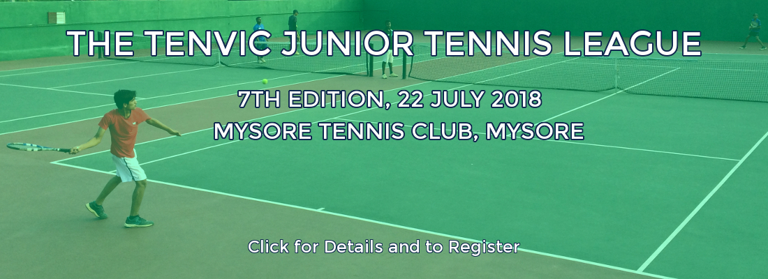 Tenvic Junior Lawn Tennis, Mysore 2018