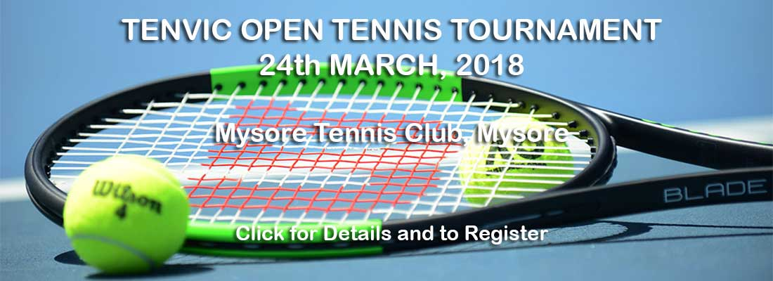 Tenvic Open Tennis Tournament, Mysore 2018